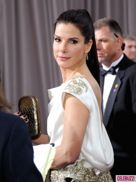 Sandra Bullock at this year's Oscars