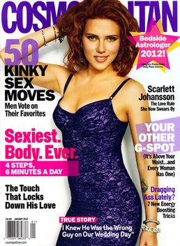 Scarlett Johansson on Cosmopolitan