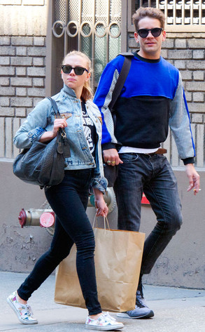 Scarlett Johansson and Roman Dauriac