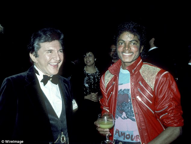 Scott Thorson and Michael Jackson