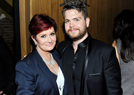 Sharon and Jack Osbourne