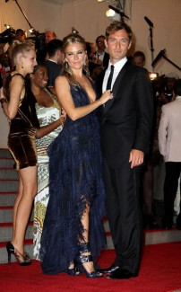 Sienna Miller and Jude Law at this year's Met Gala