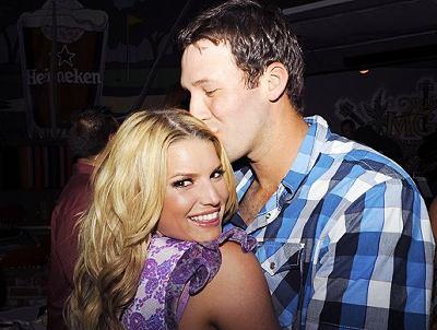 Jessica Simpson and Tony Romo