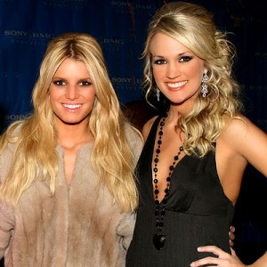 Jessica Simpson and Carrie Underwood