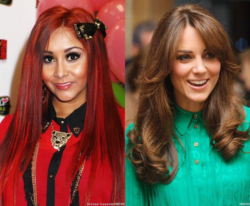 Snooki and Duchess of Cambridge