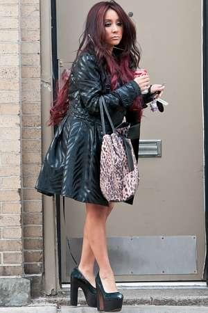 Snooki heads to her engagement party