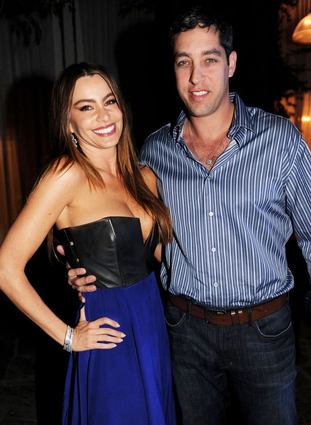 Sofia Vergara and her fiance