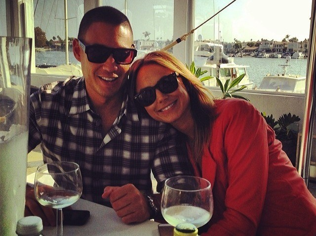 Jared Pobre and Stacy Keibler