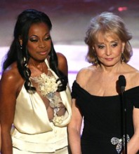 Star Jones, Barbara Walters