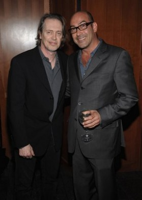 Steve Buscemi and friend