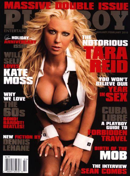 Tara Reid on Playboy