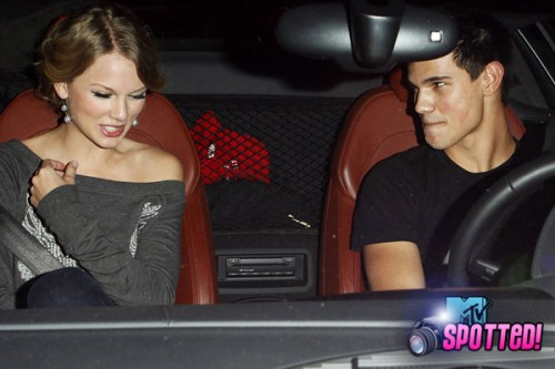 Taylor Swift and Taylor Lautner out in LA