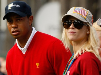 Tiger Woods and Elin Nordegren