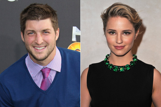 Tim Tebow and Diana Agron