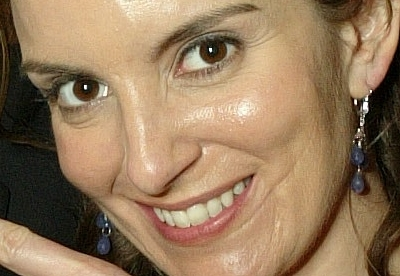 Tina Fey's scar