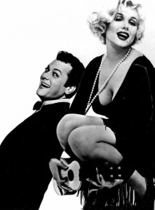 Curtis and Monroe in 'Some Like It Hot'
