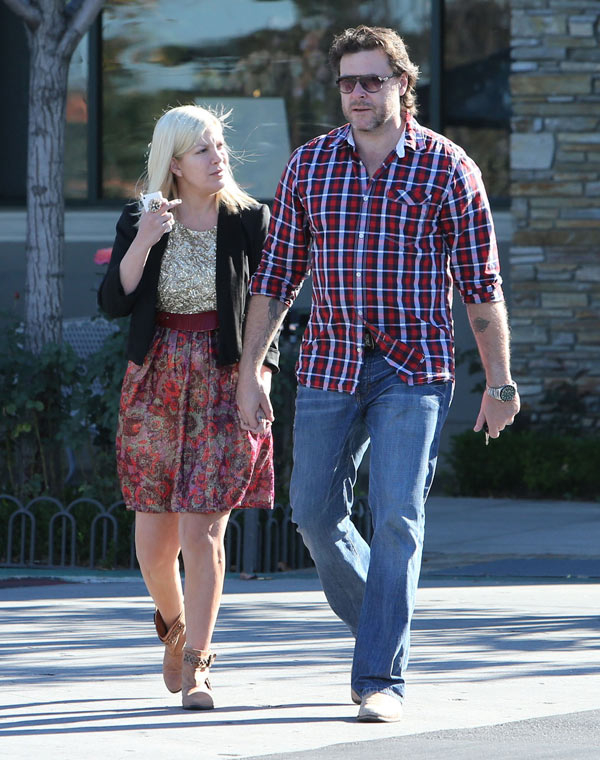 Tori Spelling and McDermott