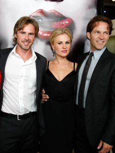 True Blood trio Sam Trammell, Anna Paquin, and Stephen Moyer