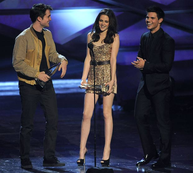 Twilight trio at People's Choice Awards