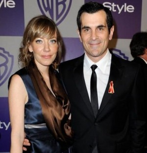 Ty Burrell and wife Holly