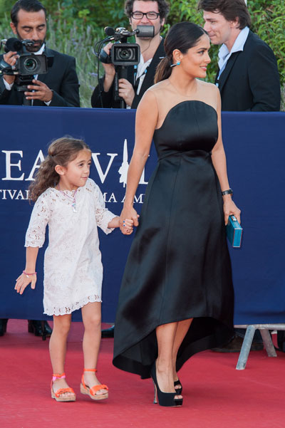 Salma Hayek and her daughter Valentina