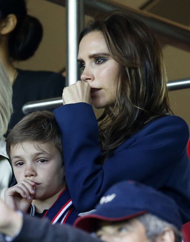 Victoria Beckham at David's last game