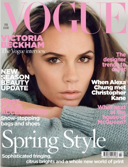 Victoria Beckham on Vogue