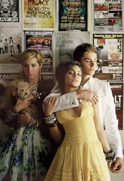 Zac Efron, Vanessa Hudgens and Ashley Tisdale in Elle