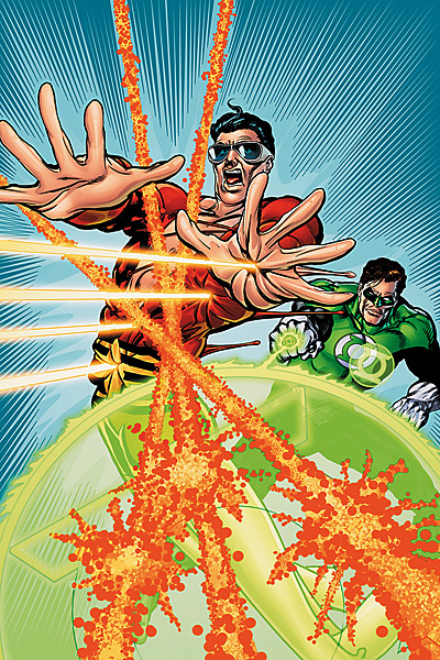 Green Lantern Plastic Man