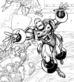 Iron Man by Walt Simonson