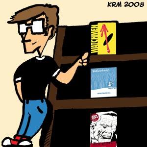 Wednesday by bookshelf
