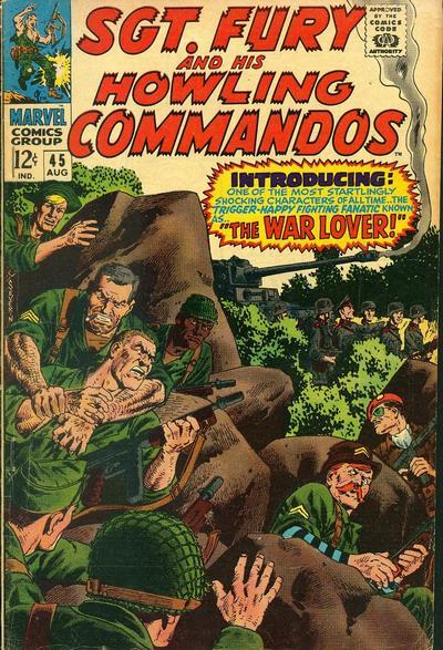 Sgt Fury #45