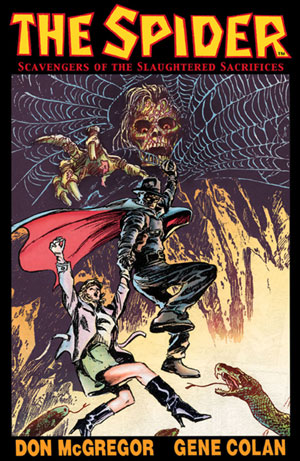 Spider Graphic Novel
