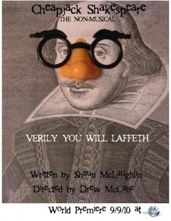 Cheapjack Shakespeare Poster