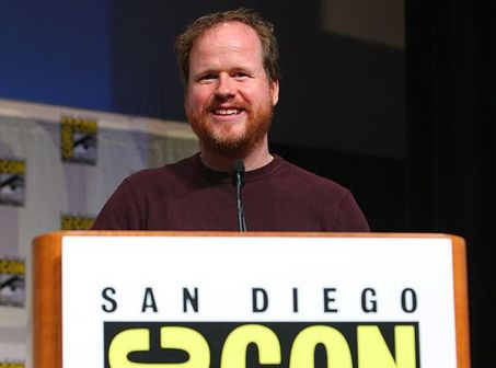 Joss Whedon at this year's San Diego Comic Con