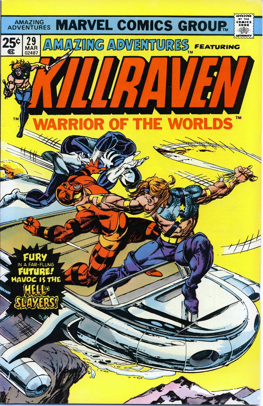 Amazing Adventures - Killraven