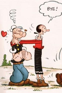 Popeye Comic Strip