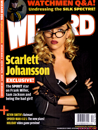 Scarlett Johansson on Wizard