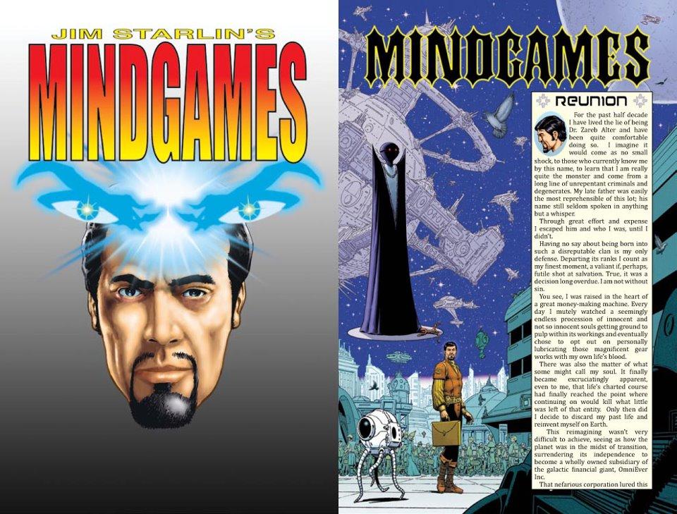 Jim Starlin's Mindgames