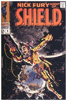 Nick Fury Agent of SHIELD #6