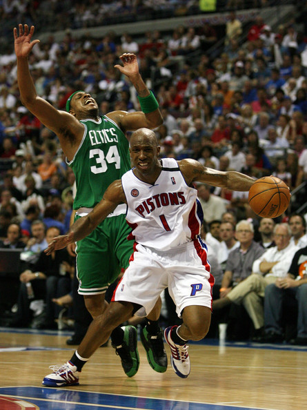 Chauncey Billups and Paul Pierce