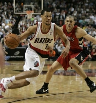 Brandon Roy and Anthony Parker