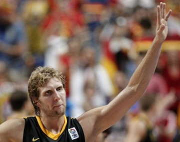 Germany's Dirk Nowitzki