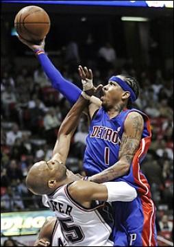 Allen Iverson Detroit Pistons