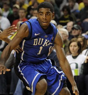 Could Kyrie Irving go first overall in the upcoming NBA Draft and head to the Cleveland Cavaliers