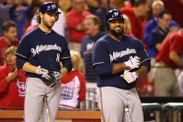 Ryan Braun and Prince Fielder leading the way for the MIlwaukee Brewers