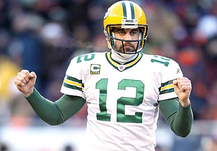 Aaron Rodgers will lead the Green Bay Packers to the Super Bowl again