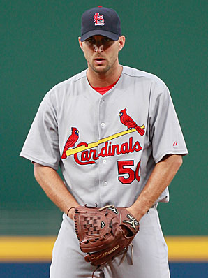 Adam Wainwright suffered an elbow injury and may be out the 2011 season