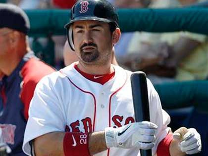 Adrian Gonzalez joins the Boston Red Sox