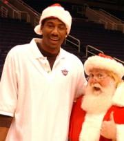 Amare and Santa